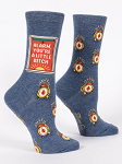 Alarm, You Little Bitch - Women's Crew Sock