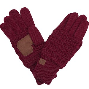 C.C Smart Touch Knit Gloves